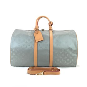 Louis Vuitton Titanium Keepall Bandoulier 2