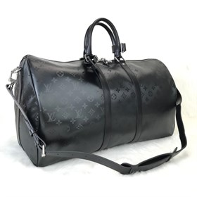 Louis Vuitton Titanium Keepall Bandoulier